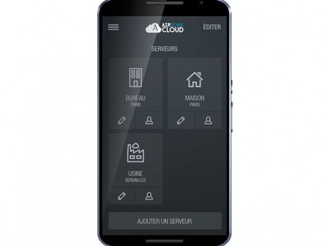 Airzone Cloud Contôle depuis un smartphone